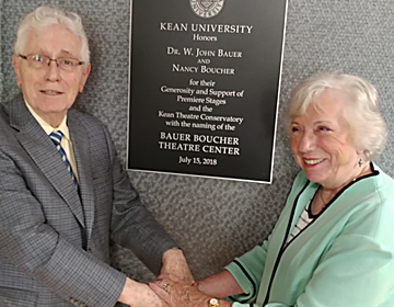 Dr. John Bauer & Nancy Boucher