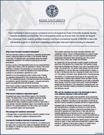 Endowment Report